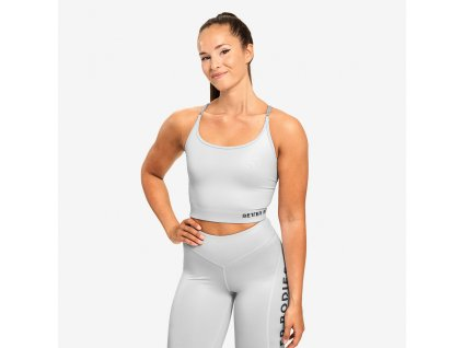 Better Bodies Top Vesey Strap Frost Grey