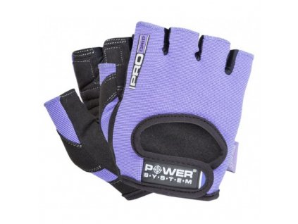 power system fitness rukavice pro grip fialove