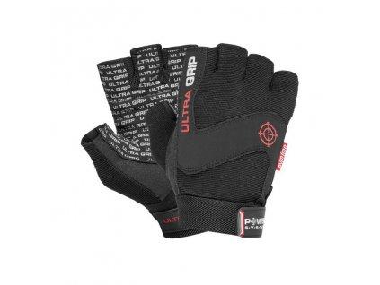 power system fitness rukavice ultra grip cerne 1