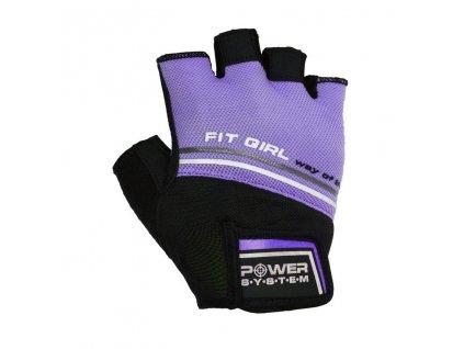 power system fitness rukavice fit girl evo fialove 1