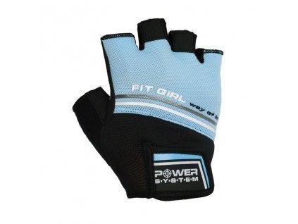 power system fitness rukavice fit girl evo modre 1