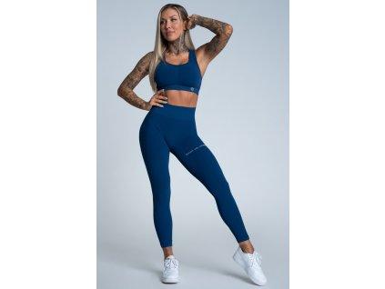 Gym Glamour Legíny Push Up Classic Blue