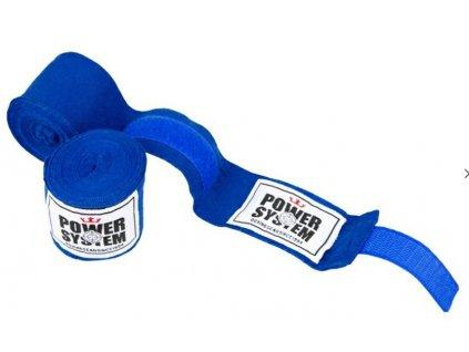 power system boxerske bandaze boxing wraps modre
