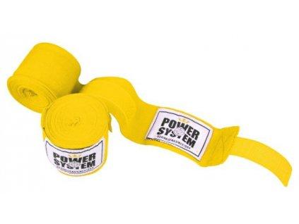 power system boxerske bandaze boxing wraps zlute