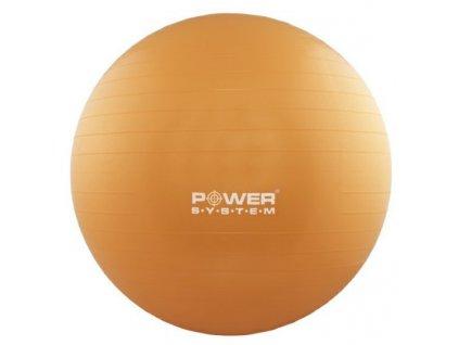 power system gymnasticky mic pro gymball 55 cm oranzovy