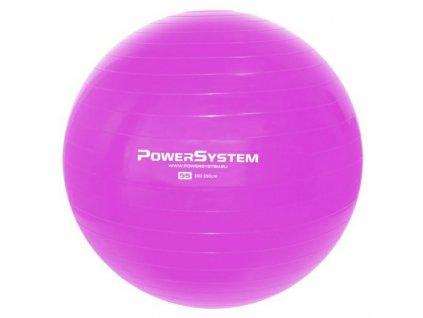 power system gymnasticky mic pro gymball 55 cm ruzovy