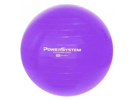 power system gymnasticky mic pro gymball 55 cm fialovy