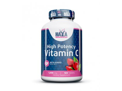 Haya labs high potency vitamin c 1,000mg with rose hips 100 vtabs hayalabs co uk