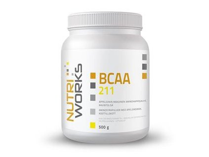 BCAA 2:1:1 500g + Vitamin C 200g ZDARMA