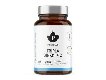 Triple Zinc + Vitamin C 120 kapslí (Zinek s vitamínem C)