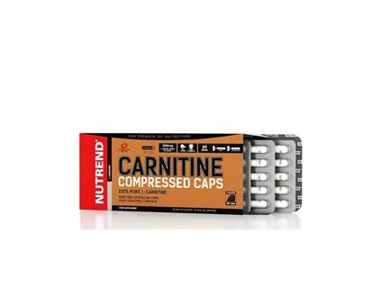 Carnitine Compressed Caps 120 kapslí
