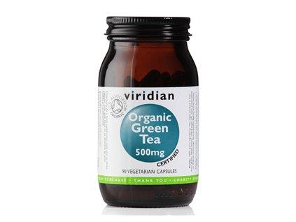 Green Tea 90 kapslí Organic (Extrakt ze zeleného čaje)