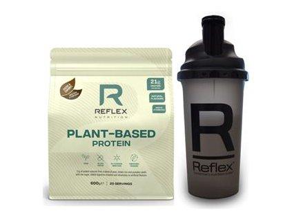 Plant Based Protein 600g  + Šejkr 500ml ZDARMA