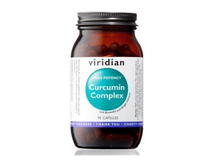 Curcumin Complex 90 kapslí (Kurkuma, kadidlovník a zázvor)