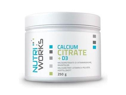 Calcium Citrate + D3 250g (Citrát vápenatý + vitamín D3)