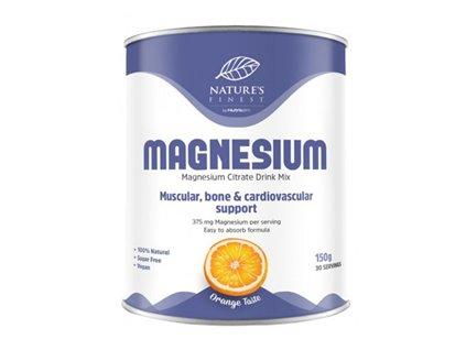 Magnesium Citrate 150g (Citrát hořečnatý) pomeranč
