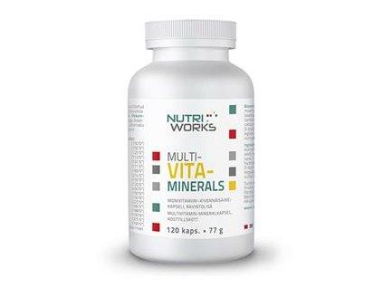 Multivitaminerals 120 kapslí (Směs vitamínů a minerálů)