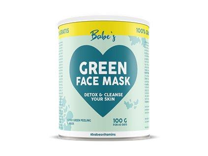 Green Face Mask 50g + 50g Zdarma (Pleťová maska)