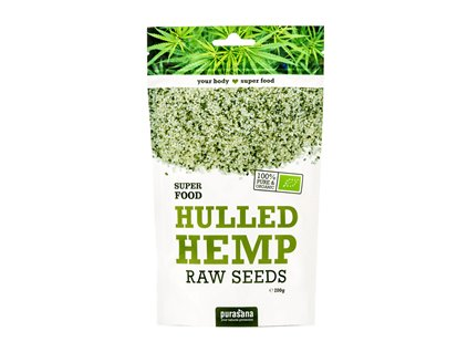 Hemp Seed BIO 200g (Konopná semínka)
