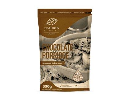 Chocolate Porridge Bio 350g (Ovesná kaše)