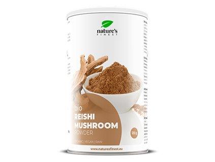 Reishi Mushroom Bio 125g (Lesklokorka lesklá)