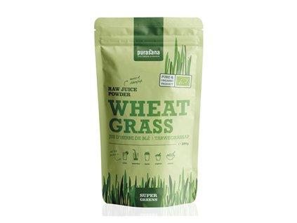 Wheat Grass Raw Juice Powder BIO 200g (Zelená pšenice)