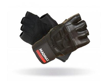 MADMAX Fitness rukavice PROFESSIONAL BLACK