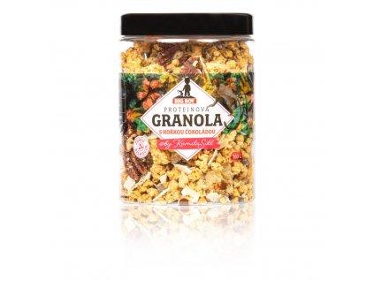 big boy proteinova granola s horkou cokoladou by kamilasikl 360g