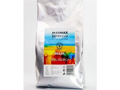 MADMAX Pražená zrnková káva 1000g
