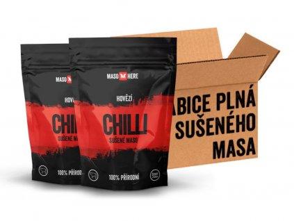 600 susene maso krabice hovezi chilli