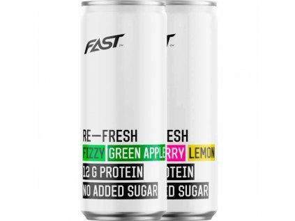 Fast RE-Fresh protein drink Zelené