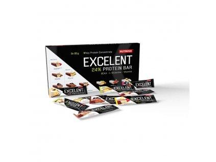 Nutrend Dárkové Balení Excelent Protein Bar 9x85 g