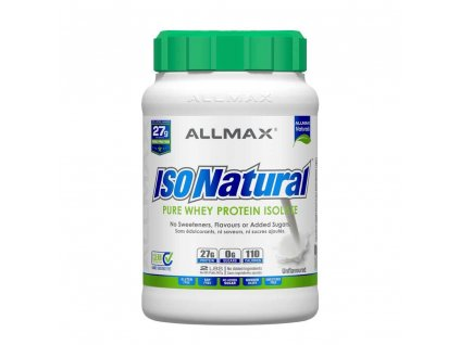 ALLMAX ISONATURAL Whey Isolate 907g natural