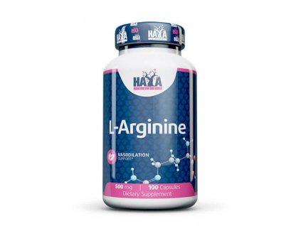 Haya Labs L-arginine 500mg 100 kapslí