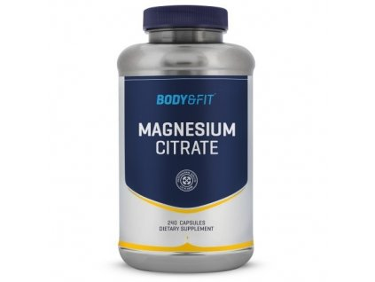 Body & Fit Magnesium Citrate 240 kapslí