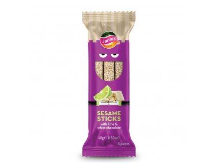 Jannis Sesame sticks Choco 48g