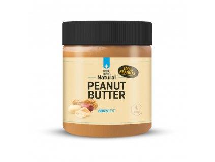 Body & Fit Natural Burákové máslo Smooth - hladká konzistence 500g