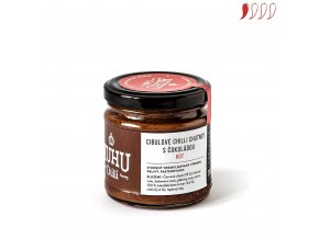 147 cibulove chutney s cokoladou a chilli 200ml hot