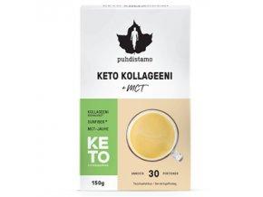 Premium Keto Kollagen + MCT 150g (Kolagenové peptidy Bodybalance® s MCT)