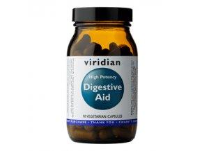 High Potency Digestive Aid 90 kapslí (Enzymy, betain, zázvor a máta)