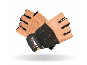 MADMAX Fitness rukavice CLASIC BROWN