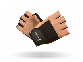 MADMAX Fitness rukavice FITNESS BROWN