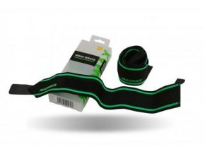 MADMAX Elastická bandáž na zápěstí black/green, Velikost UNI