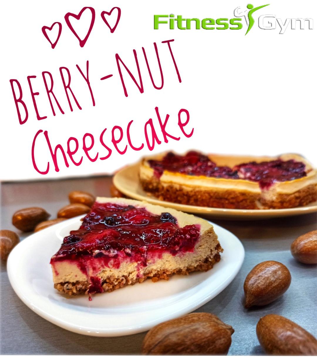 Berry-Nut Cheesecake