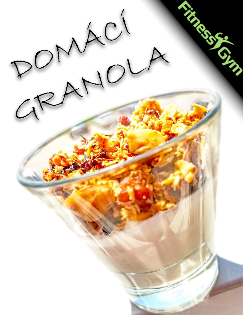 Domácí zdravá GRANOLA