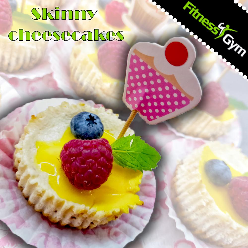 Jogurtové cheesecakes :)