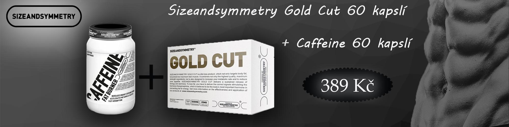 Sizeandsymmetry Gold Cut + Caffeine