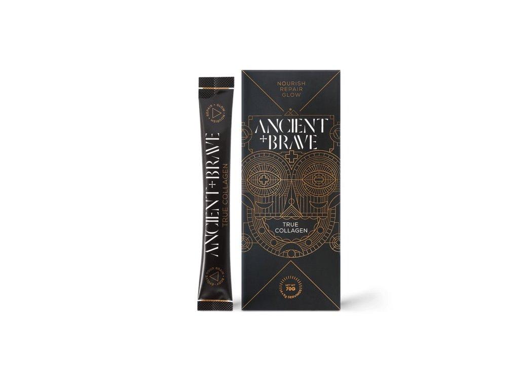 Ancient+Brave Grass Fed True Collagen Box 14×5g