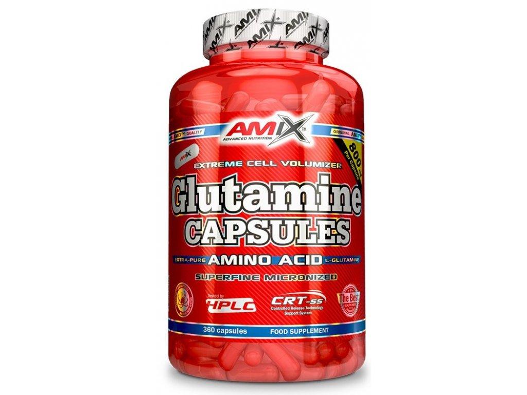 Amix L-Glutamine 360kapslí