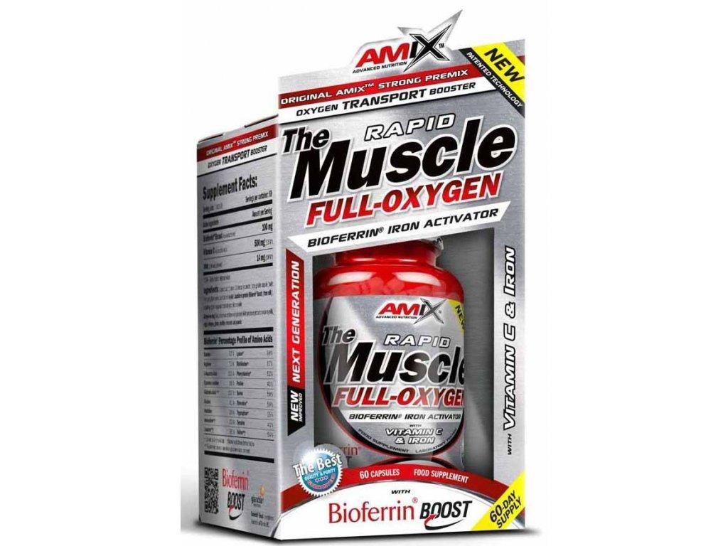 Amix Muscle Full-Oxygen 60kapslí